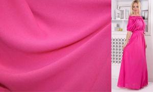 Креп-шифон: легкая ткань для легкой одежды