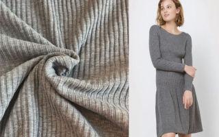 Ткань кашкорсе: вязаный трикотаж для белья и свитеров