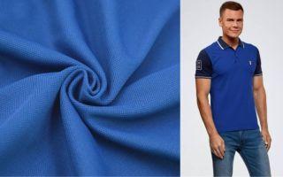 Ткань пике: рельефный трикотаж для удобной одежды и домашнего текстиля