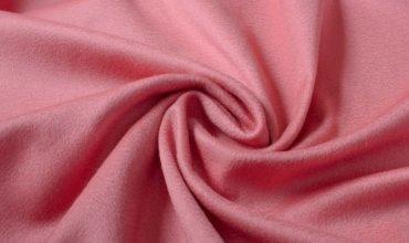 Розовый гладкий кашемир