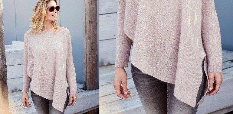 Уютный мягкий свитерок из кашемировой ткани