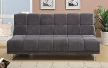 замшевый диван