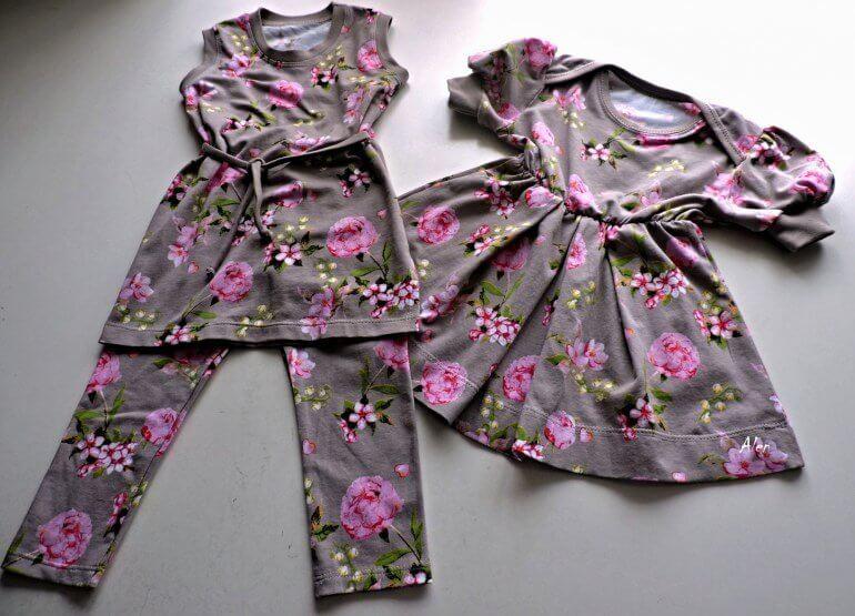 Женский комплект из ткани кулирка