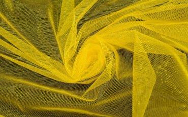 желтый фатин