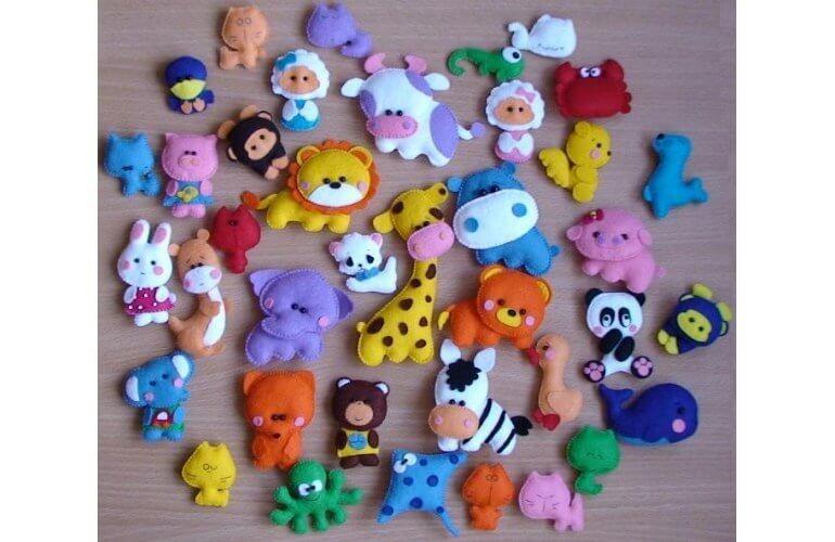 Детские игрушки из фетра это не только красиво, но и безопасно