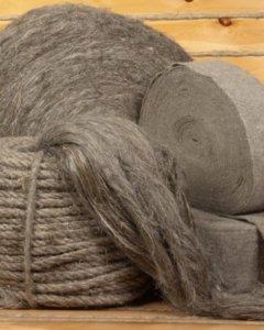 Льняное волокно