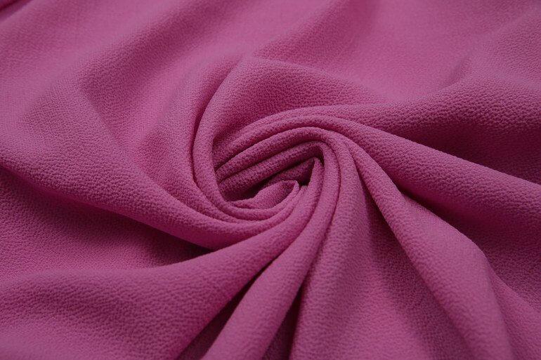 Креп-шифон это ткань с матовой фактурной поверхностью