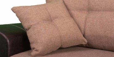 черно-коричневый диван