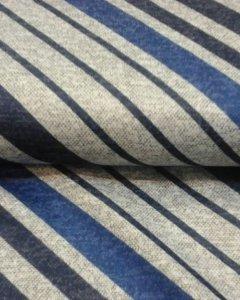 полосатая рогожковая ткань