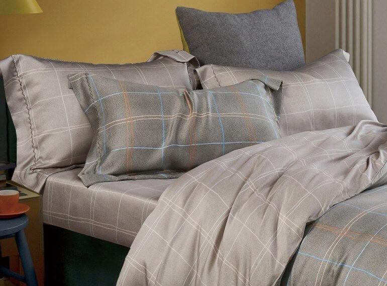 Тенсель обладает приятным блеском и мягкостью, что важно для качественного и комфортного постельного белья
