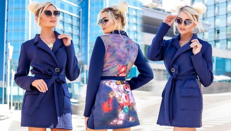 Из неопрена можно создать по-настоящему стильный современный тренч, отвечающий всем требованиям моды и стиля